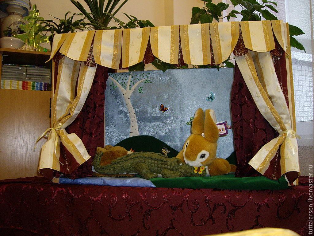 Кукольный театр переносная ширма