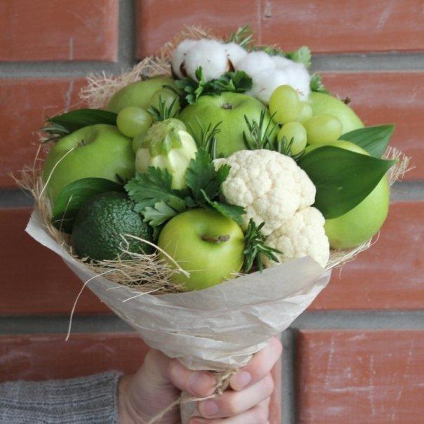 Овощной букет пошаговое фото